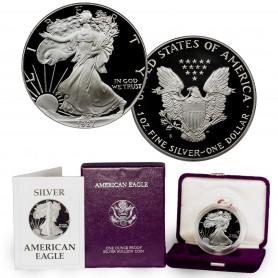 1987-S American Silver Eagle Proof 1 oz.
