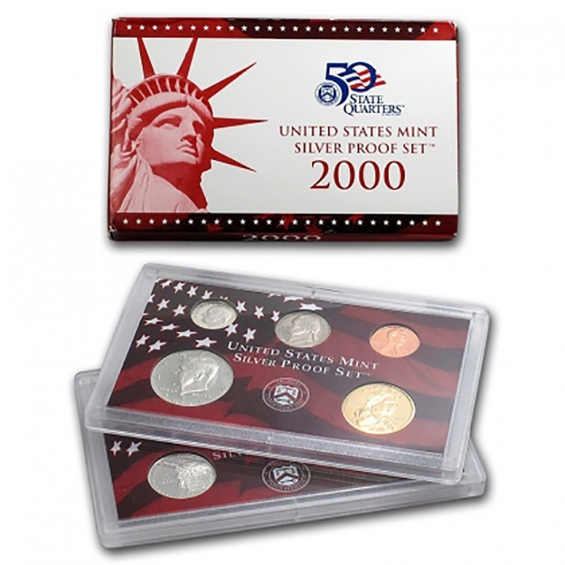 2000-S United States Mint Silver Proof Set