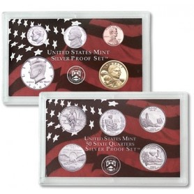 2003-S United States Mint Silver Proof Set