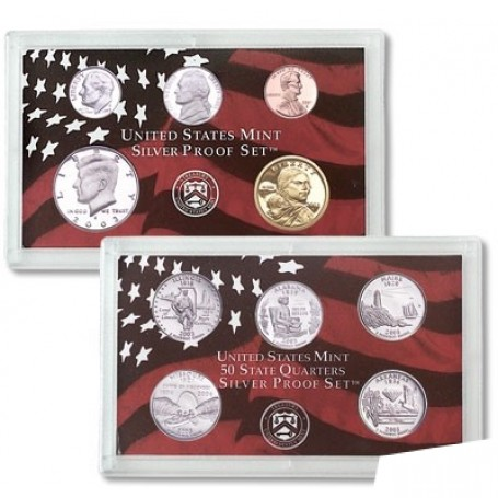 2017-S CLAD PROOF SET~ 10 PROOF COINS WITH ORIGINAL BOX /& COA //SAME DAY SHIPPING
