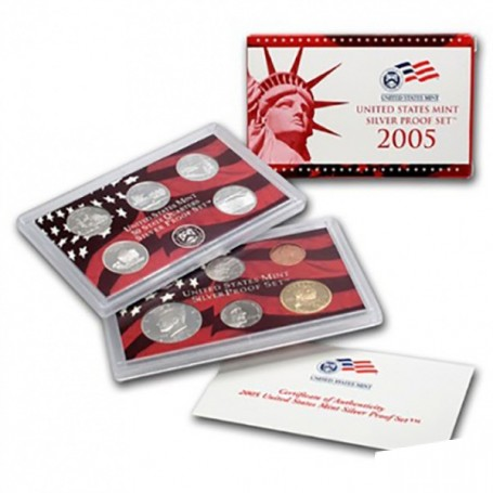 2005-S United States Mint Silver Proof Set