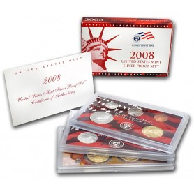 2008-S United States Mint Silver Proof Set