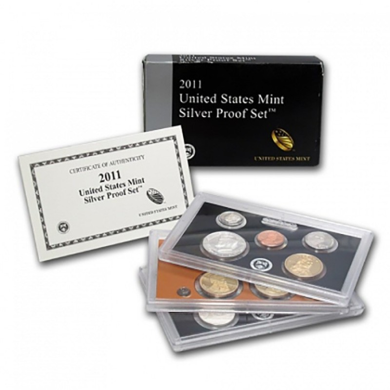 2011-S United States Mint Silver Proof Set