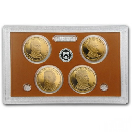 2012 Clad And 2012 Silver Proof Sets 14 Coins Each