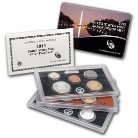 2013-S U.S. Mint Silver Proof Set