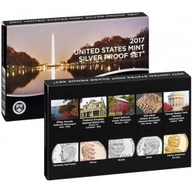 2017-S U.S. Mint Silver Proof Set