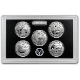 2018-S U.S. Mint Silver Proof Set
