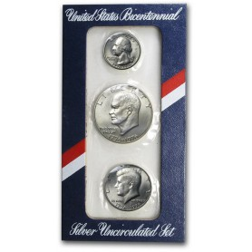 1976 U.S. Mint Silver Bicentennial Uncirculated Set
