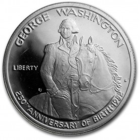 1982-S George Washington 1/2 Dollar Silver Commemorative Proof