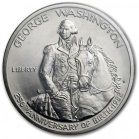 1982-D U.S. Mint George Washington Silver Half Dollar Uncirculated