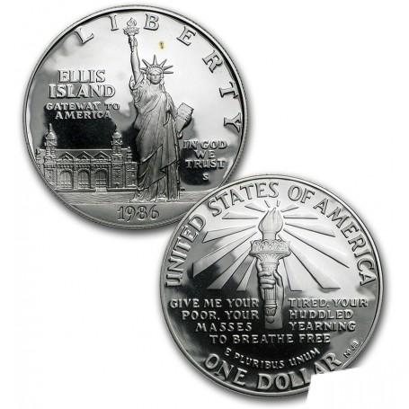 1986-S U.S. Mint Liberty 2-Coin Proof Set