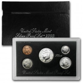 1993-S United States Mint Silver Proof Set