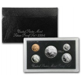 1994-S United States Mint Silver Proof Set