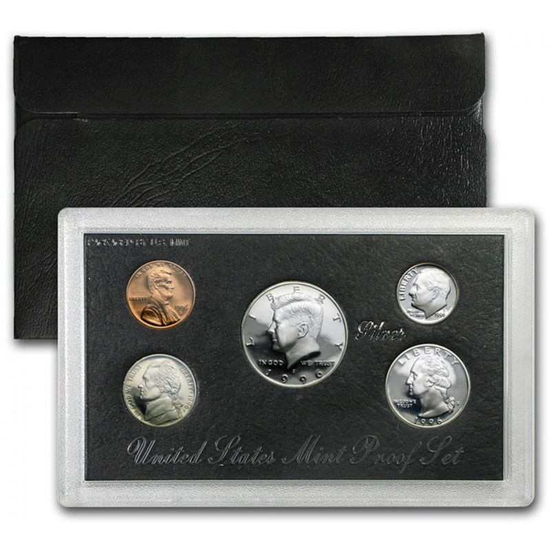 1996-S United States Mint Silver Proof Set
