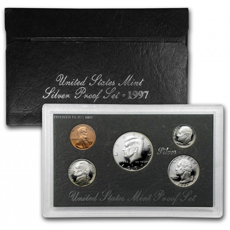 1997-S United States Mint Silver Proof Set