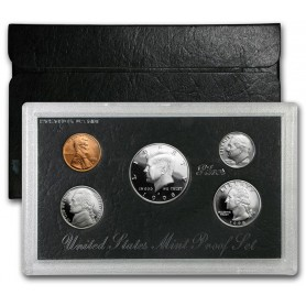 1998-S United States Mint Silver Proof Set