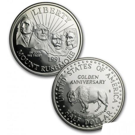 1991 Prestige Proof Coin Set Mount Rushmore Commemorative OGP US Mint