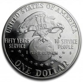 1991-S United States USO Silver Dollar Proof