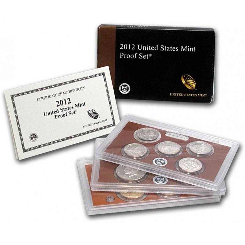 2012-S United States Mint Proof Set Key Date