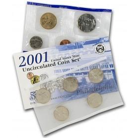 2001 U.S. Mint Set
