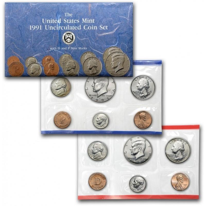 1991 U.S. Mint Set