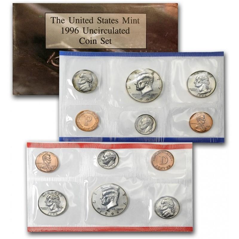 1996 U.S. Mint Set