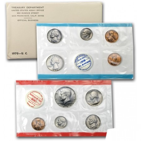 1970 U.S. Mint Set