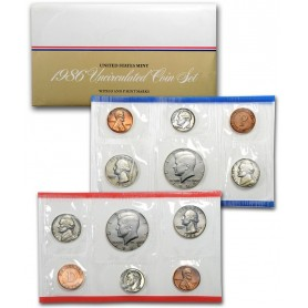 1986 U.S. Uncirculated Mint Set