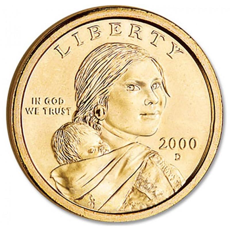 2000-D Sacagawea Dollar