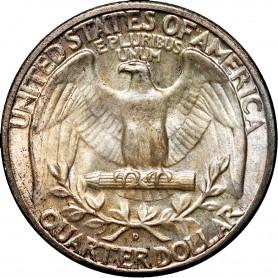 1934-D Normal Motto Washington Quarter