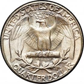1934-P Heavy Motto Washington Quarter