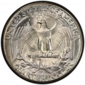 1934-D Heavy Motto Washington Quarter