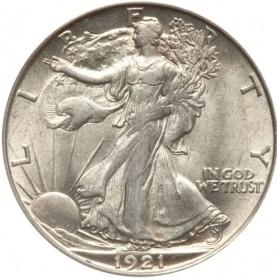 1921-D Walking Liberty Half Dollar RARE - KEY DATE