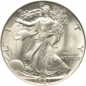 1921-P Walking Liberty Half Dollar