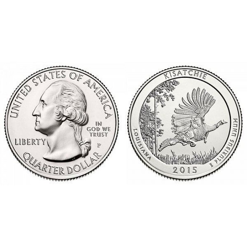 2015-P Kisatchie America The Beautiful Quarters National Park Quarters