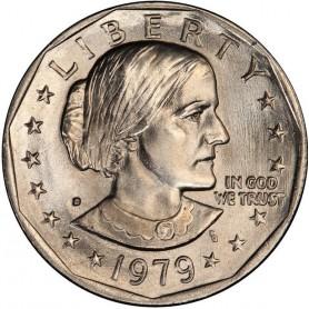 1979-D Susan B. Anthony Dollar