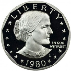 1980-S Susan B. Anthony Dollar Proof