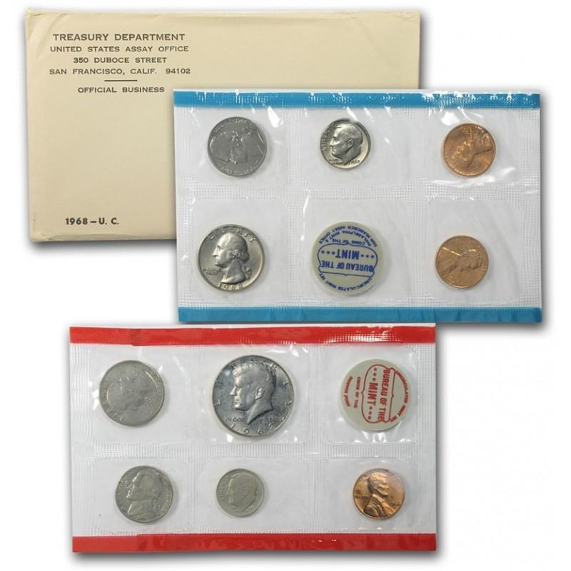 1968 U.S. Mint Set