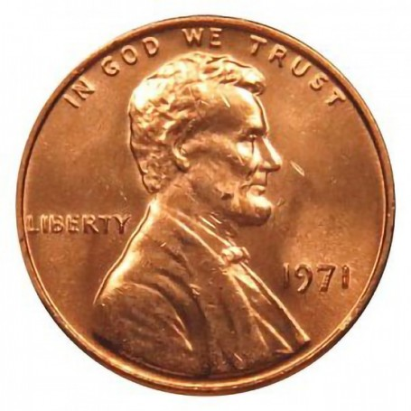 1971-P Lincoln Cent