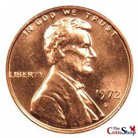 1972-D Lincoln Cent