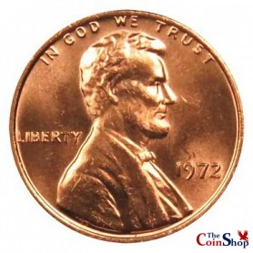 1972-P Lincoln Cent