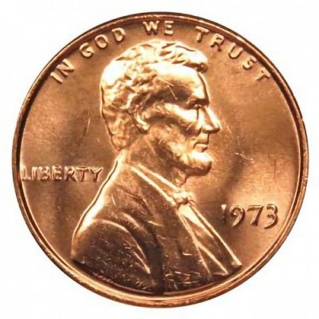 1973-P Lincoln Cent