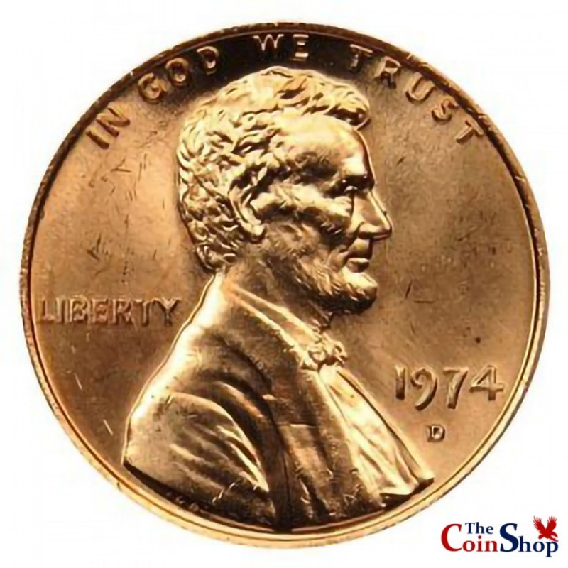 1974-D Lincoln Cent