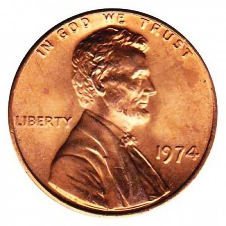 1974-P Lincoln Cent