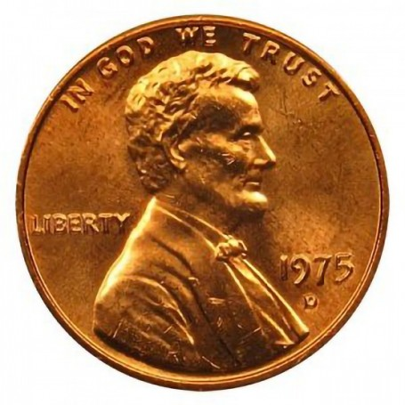 1975-D Lincoln Cent