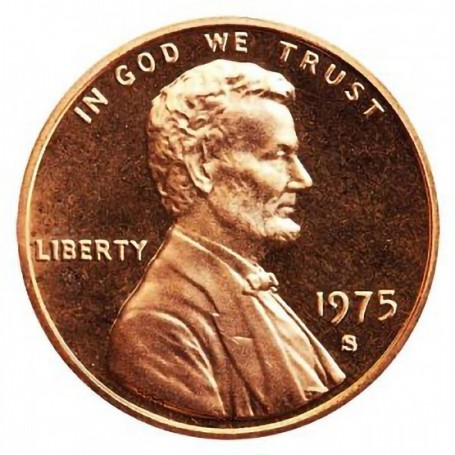 1975-S Lincoln Cent