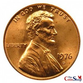1976-D Lincoln Cent