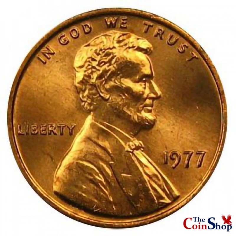 1977-P Lincoln Cent