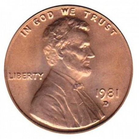 1981-D Lincoln Cent