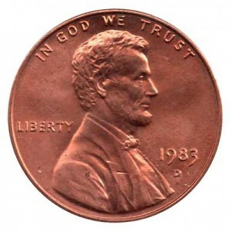 1983-D Lincoln Cent
